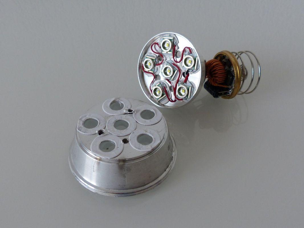 Démontage tête LED 5